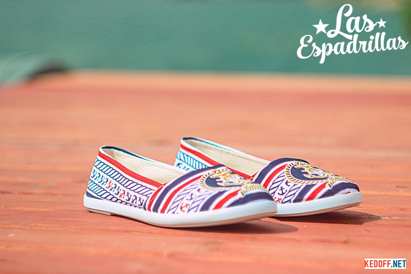 Женские балетки Las Espadrillas V5901-40 Made in Spain