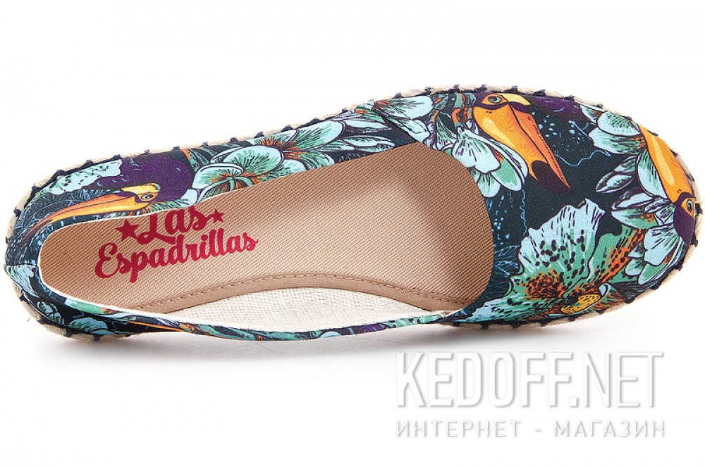 Испанские балетки Las Espadrillas V5903-24