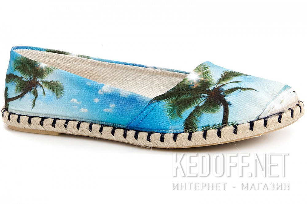 Women's ballerinas Las Espadrillas V5906-40 Made in Spain