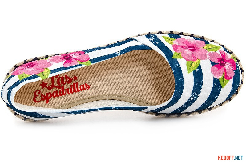 Жіночі балетки Las Espadrillas V5911-40 Made in Spain