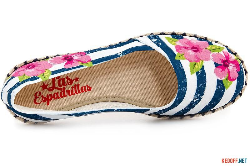 Women's ballerinas Las Espadrillas V5911-40 Made in Spain