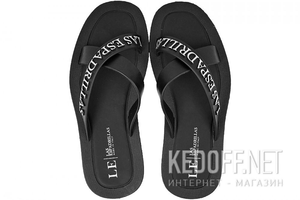 Купить Мужская пляжная обувь Las Espadrillas V6596-27   (чёрный)