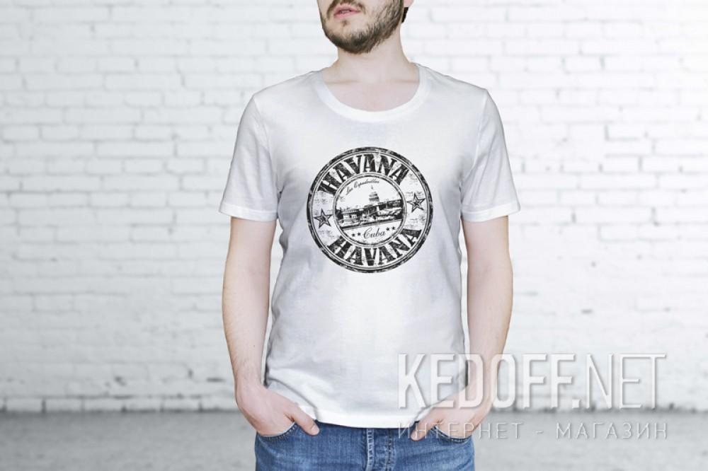 Купить Мужские футболки Las Espadrillas 1653-F255   (белый)