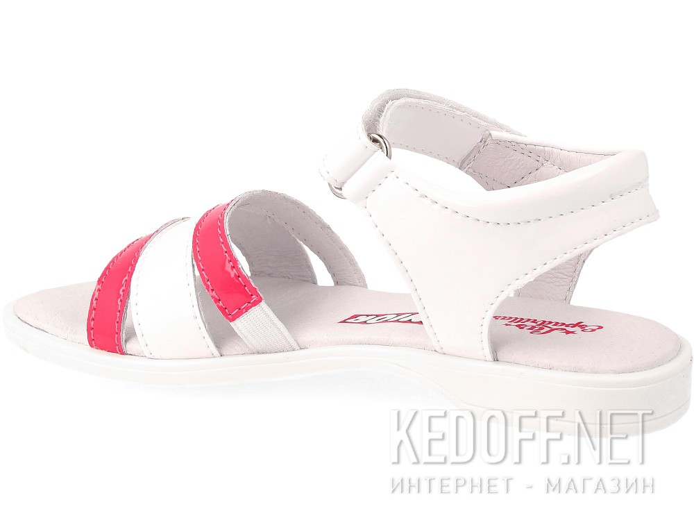 Сандалии Las Espadrillas 4584-03  (розовый/белый) купить Киев