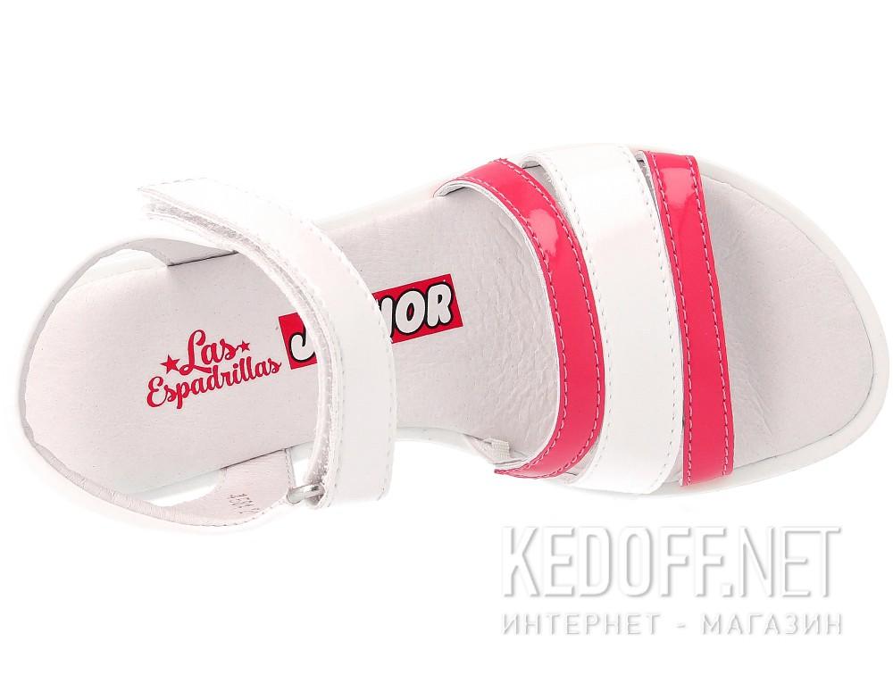 Цены на Сандалии Las Espadrillas 4584-03  (розовый/белый)