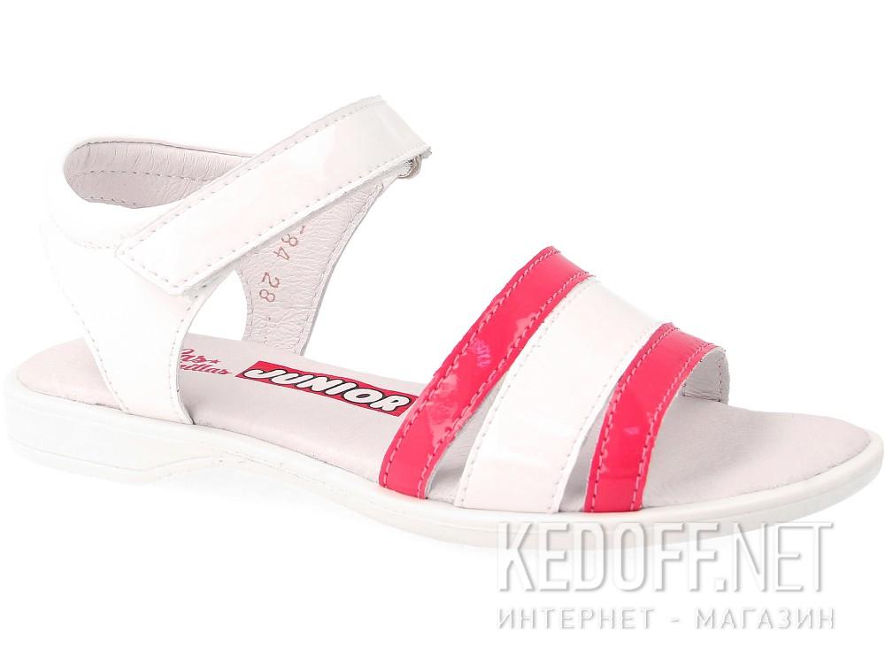 Сандалии Las Espadrillas 4584-03  (розовый/белый) купить Украина