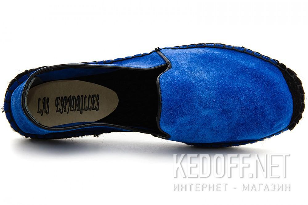 Летние эспадрильи Las Espadrillas 3080-41 Синяя замша