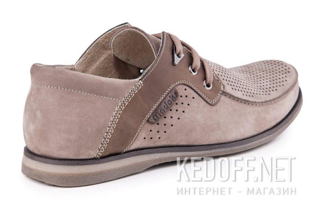 Летние нубуковые туфли Forester 1611-329 Беж Нуб-R