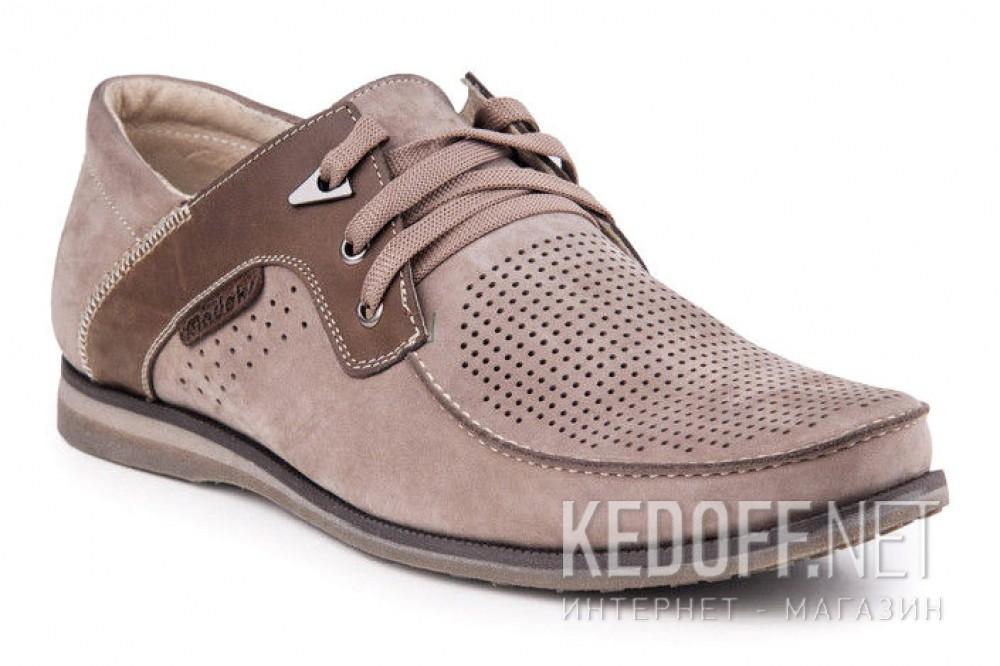 Літні нубукові туфлі Forester 1611-329 Беж Нуб-R