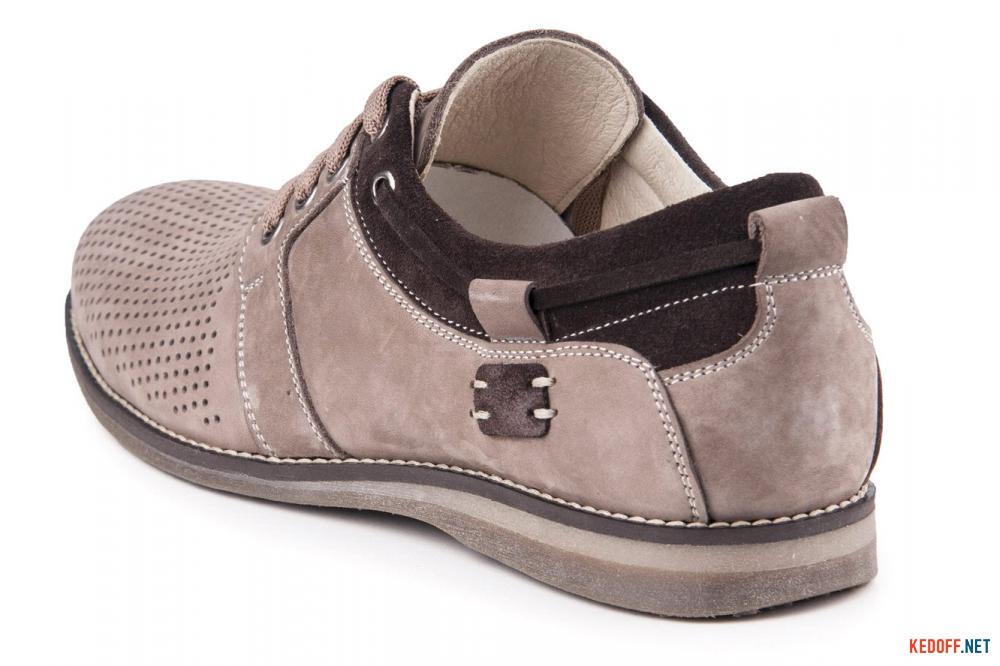 Летние нубуковые туфли Forester 1626-329 Беж Нуб-R