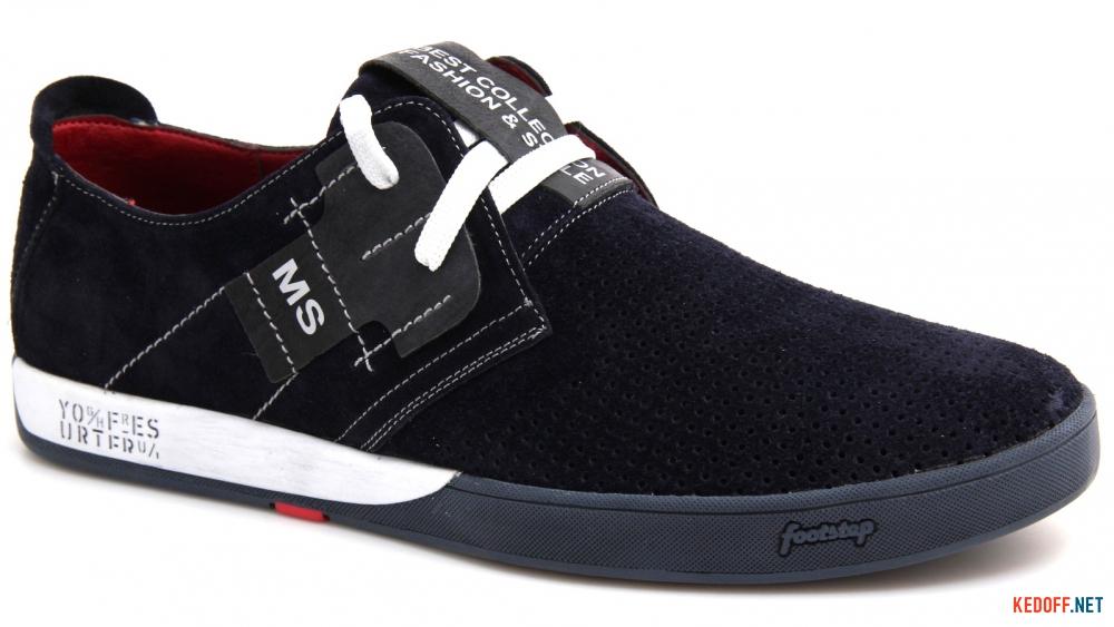 Літні нубукові туфлі Forester 1632-329 Сін Нуб-R
