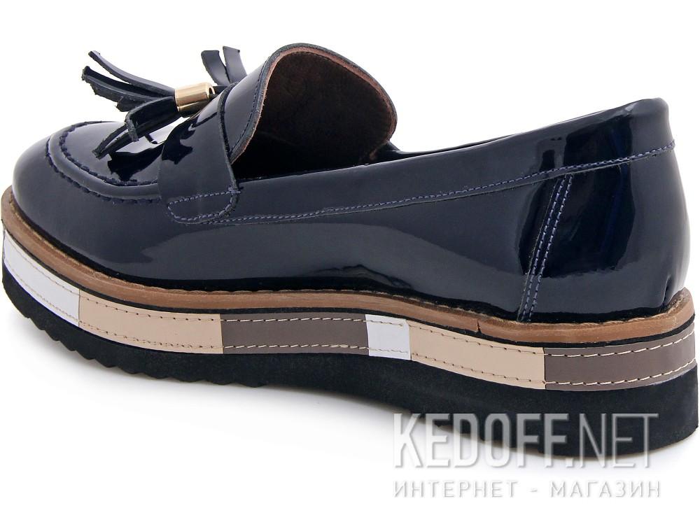 Туфли Las Espadrillas 072201-89 унисекс   (тёмно-синий) купить Украина