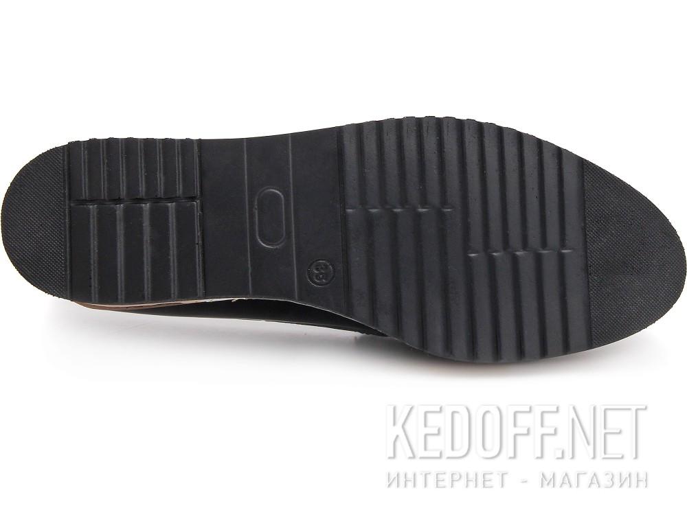 Туфли Las Espadrillas 072201-89 унисекс   (тёмно-синий) купить Киев
