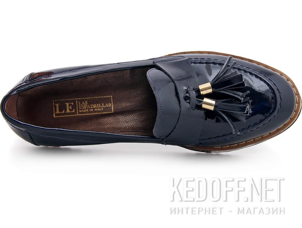 Оригинальные Туфли Las Espadrillas 072201-89 унисекс   (тёмно-синий)