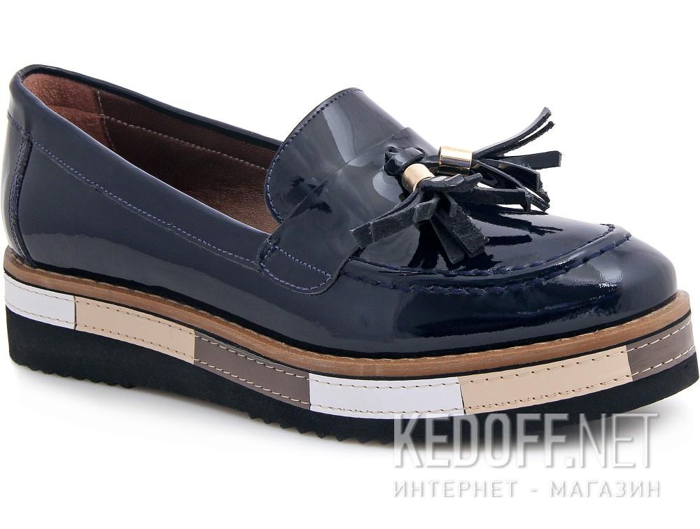Купить Туфли Las Espadrillas 072201-89 унисекс   (тёмно-синий)