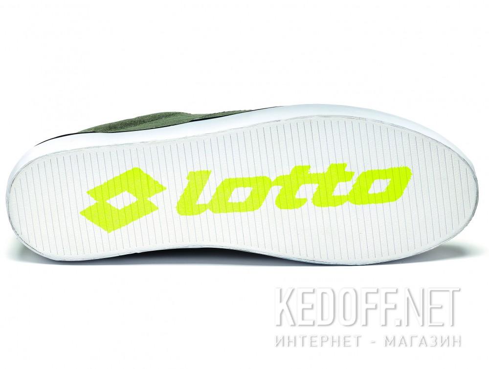 Вансы Lotto 80 унисекс   (хаки/оливковий) купить Украина