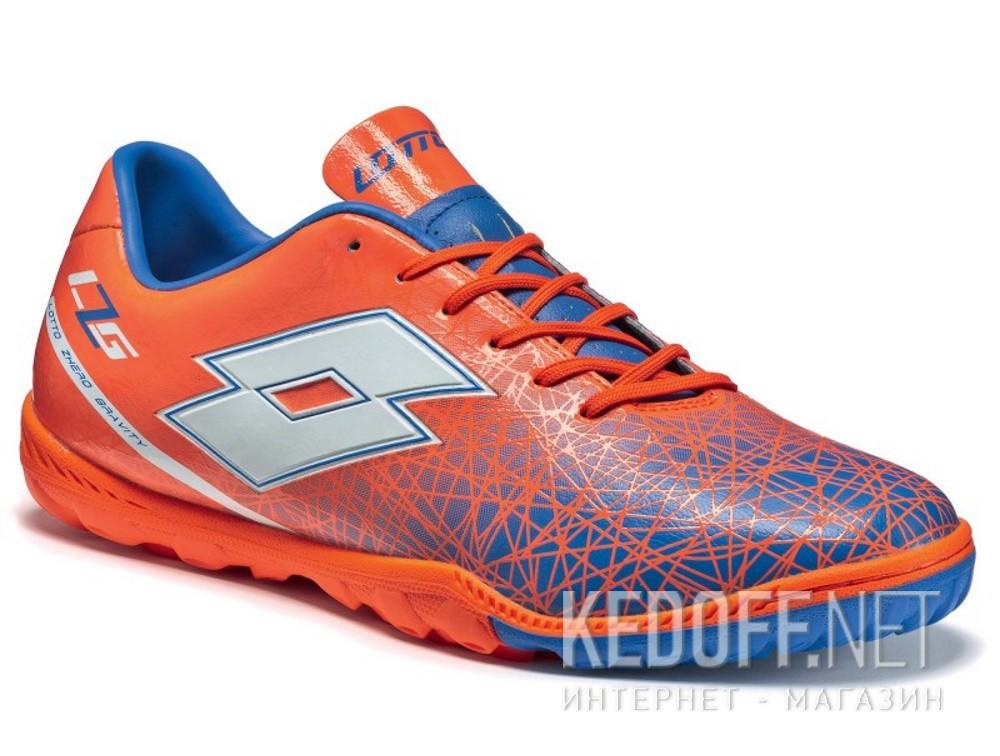 Купить Бутсы Lotto LZG VIII 700 TF S3962 унисекс   (оранжевый/синий)
