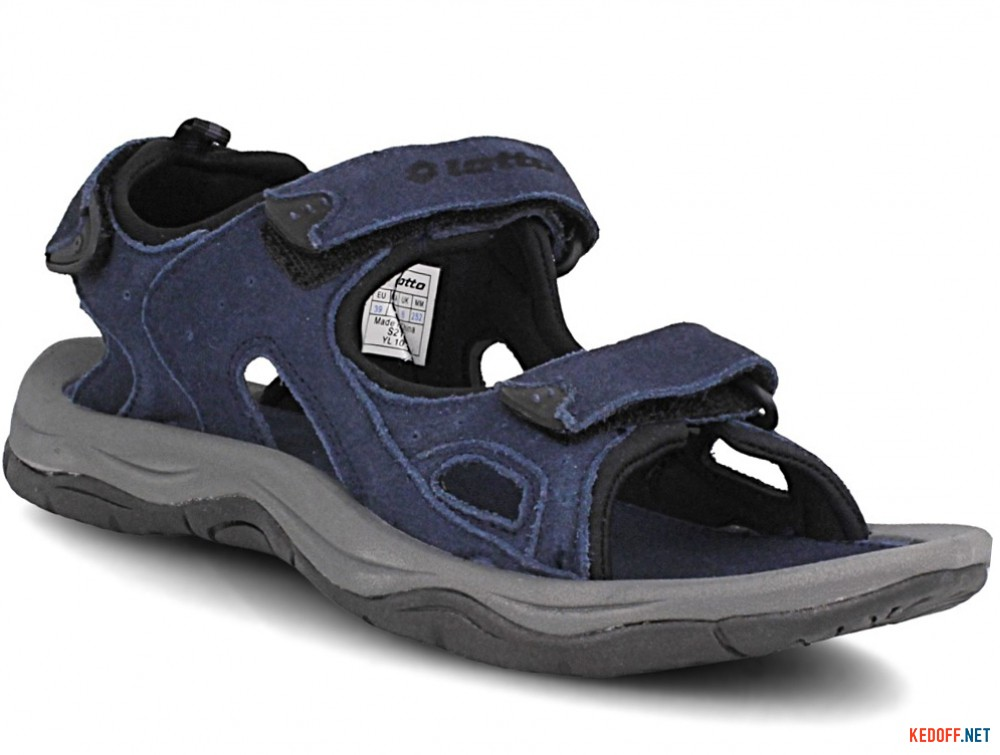 Купить Мужские сандалии Lotto Sahara Iii S2135  (синий)