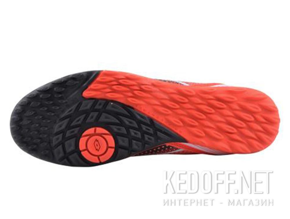 Оригинальные Спортивная обувь Lotto Spider 700 Xiii Tf S7177 унисекс   (чёрный/красный)