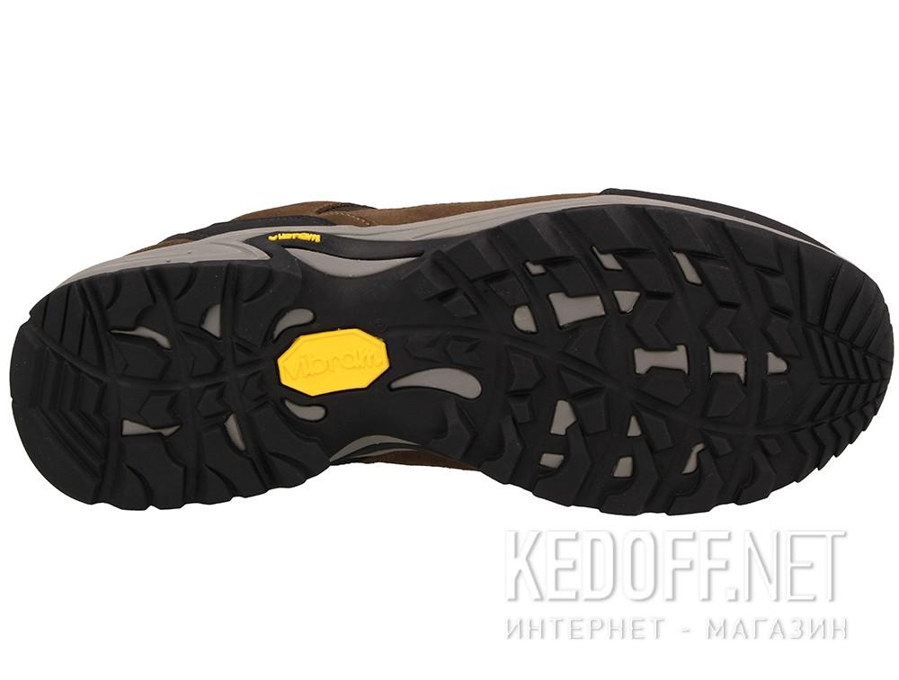 Оригинальные Мужские трекинговые кроссовки Lytos 8AB038-66 унисекс   (тёмно-коричневый/коричневый/чёрный)