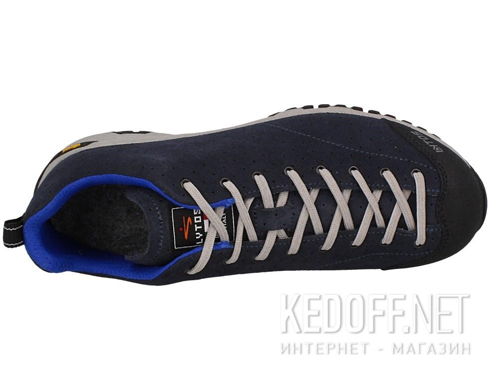 Оригинальные Мужские трекинговые кроссовки Lytos FLORIANS VAR.V1.FORATE 57B068-V1  (тёмно-синий/чёрный/серый)