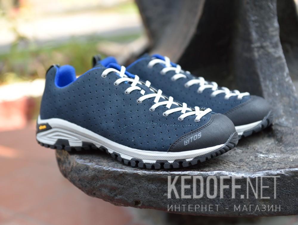 Мужские трекинговые кроссовки Lytos FLORIANS VAR.V1.FORATE 57B068-V1  (тёмно-синий/чёрный/серый) все размеры