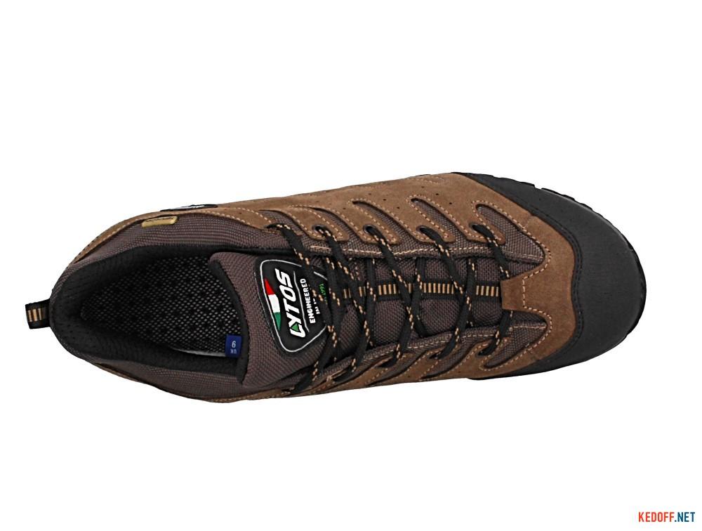 Мужские треккинговые полуботинки Lytos Nitron 64 Vibram 57B007-64   (коричневый)