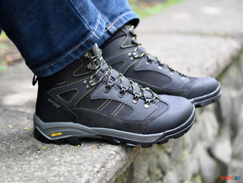Цены на Мужские трекинговые ботинки Lytos Nw Kay 14   (тёмно-серый)