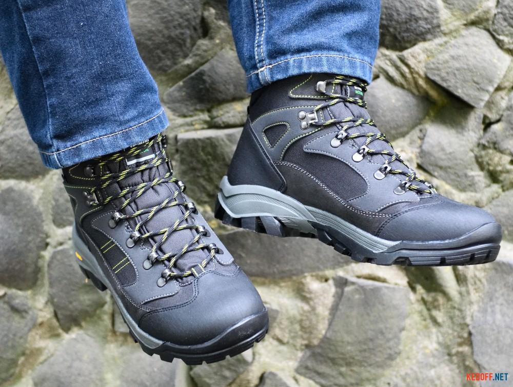 Мужские трекинговые ботинки Lytos Nw Kay 14   (тёмно-серый) все размеры