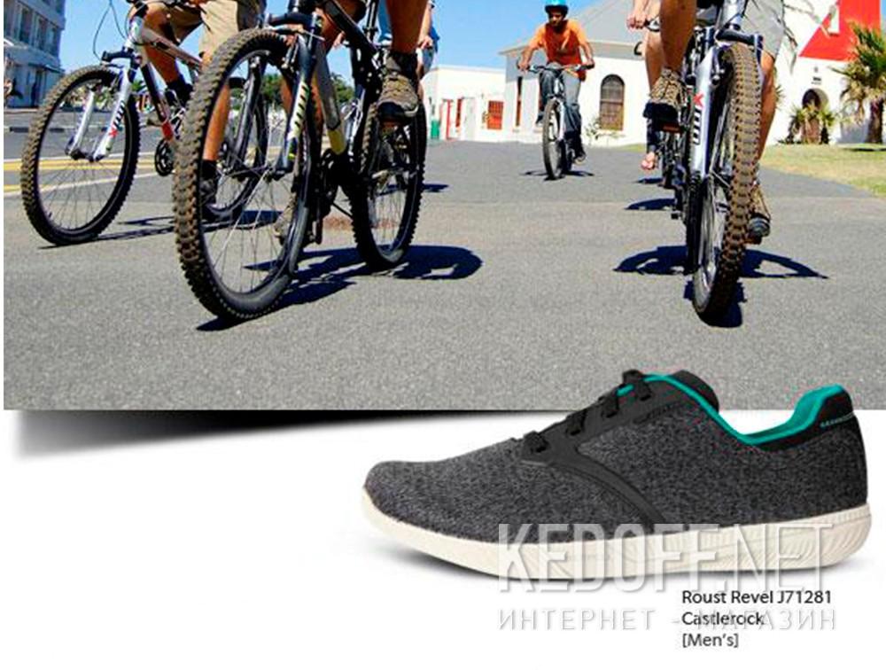 Мужские кроссовки Merrell Castlerock Roust Revel J71281   (тёмно-серый) все размеры