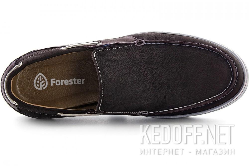 Мокасини Forester 1125-45 коричневий нубук