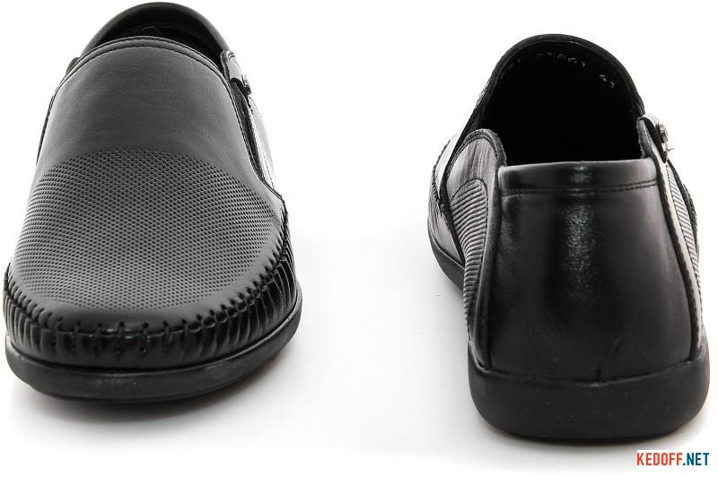 Moccasins Greyder 11271-51861 Camper Black leather