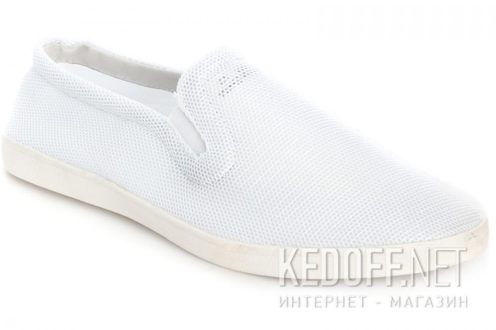 Слипоны Las Espadrillas 1093-13SL  Белые