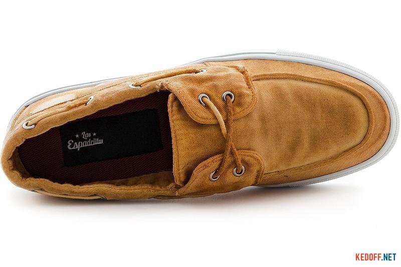 Men's shoes Las Espadrillas 15006-21 light brown