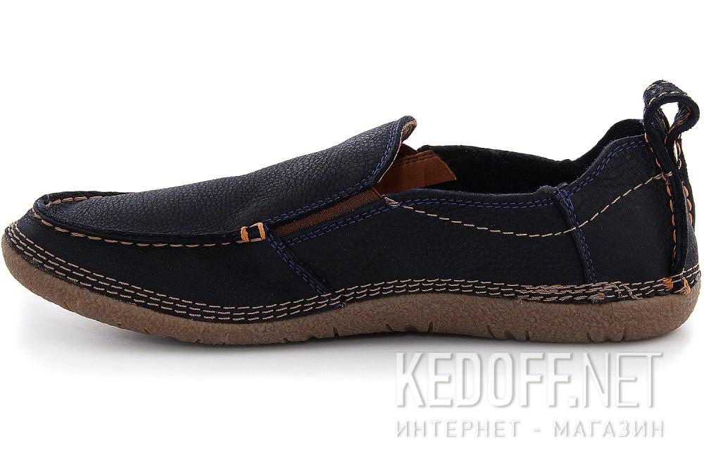 Мужские туфли Las Espadrillas 502-89   (тёмно-синий) купить Украина