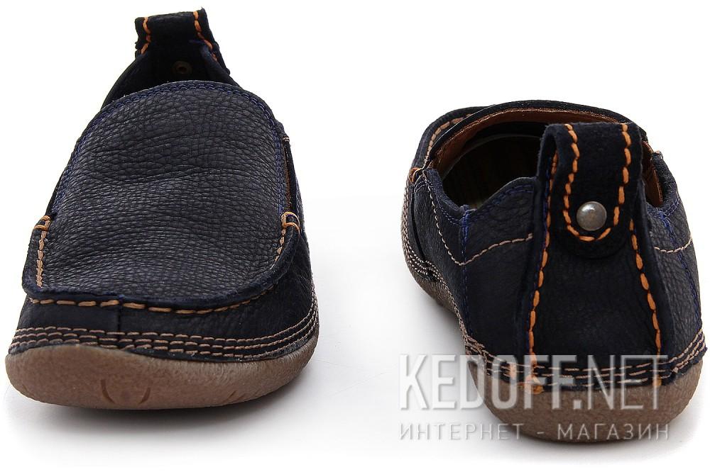 Мужские туфли Las Espadrillas 502-89   (тёмно-синий) купить Киев