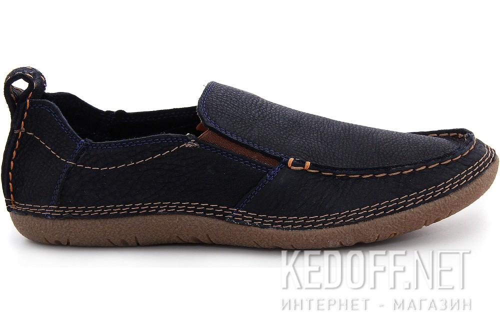 Оригинальные Мужские туфли Las Espadrillas 502-89   (тёмно-синий)
