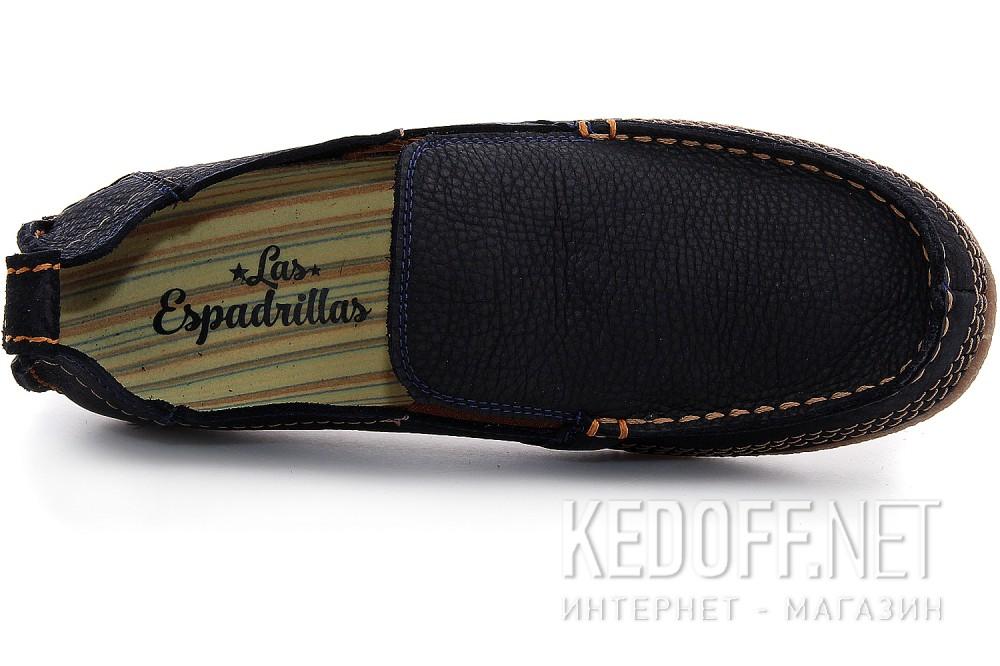 Цены на Мужские туфли Las Espadrillas 502-89   (тёмно-синий)