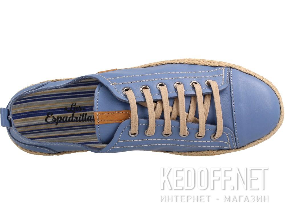 Полукеды Las Espadrillas 10111-40 унисекс   (синий) купить Киев
