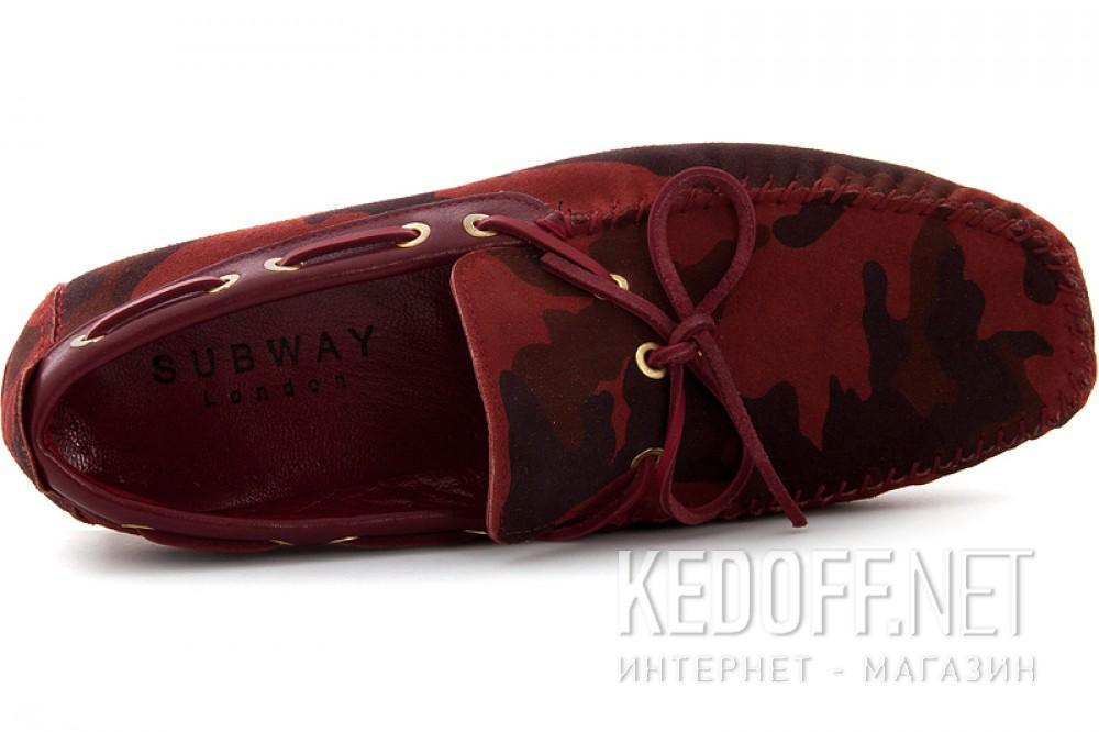 Цены на Мужские туфли Subway 4125-1   (красный)