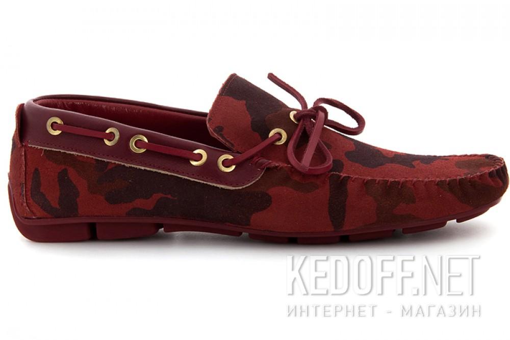 Мужские туфли Subway 4125-1   (красный) описание