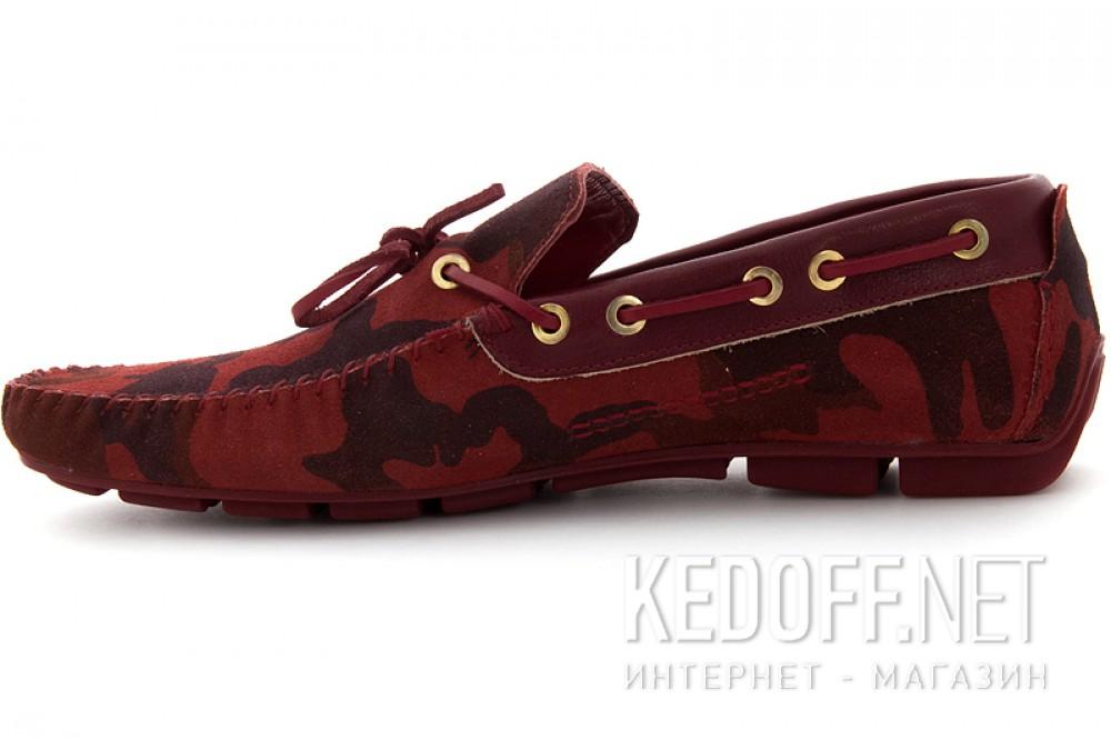 Оригинальные Мужские туфли Subway 4125-1   (красный)
