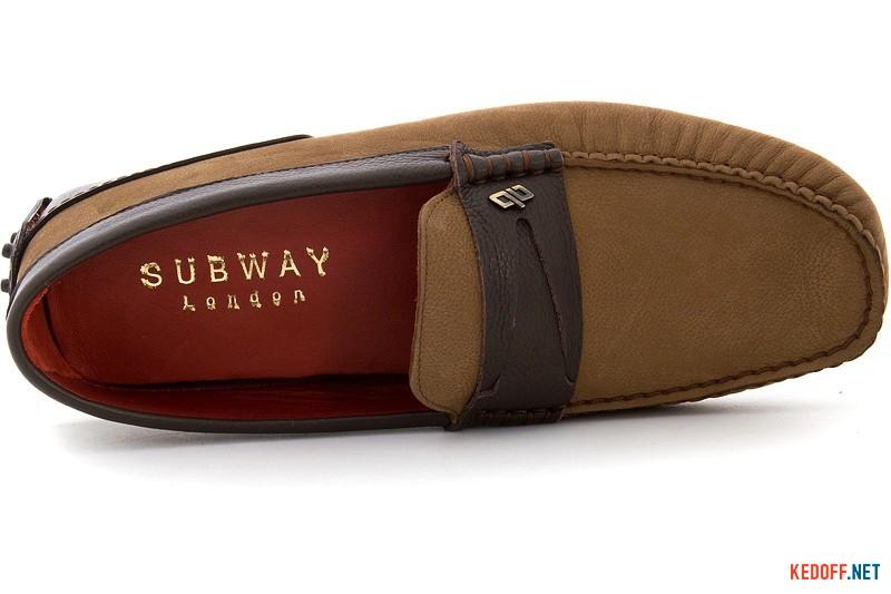 Men's nubuck moccasins Subway 4678