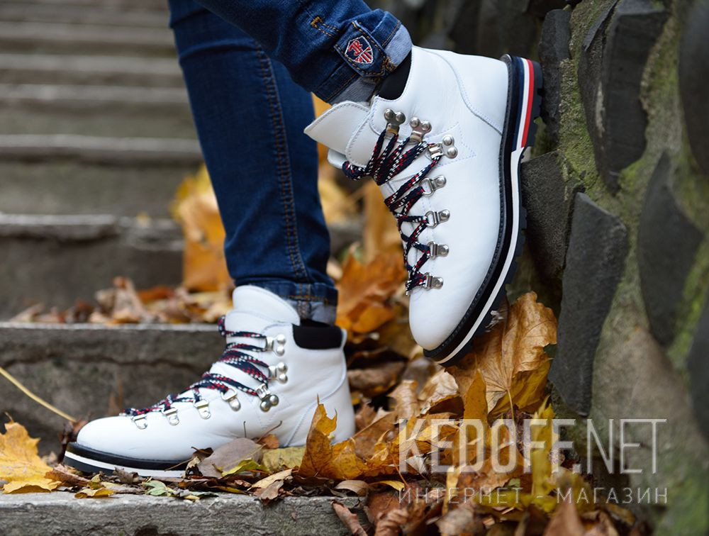 Ботинки Moncler Blanche Boots White Vibram - Made in Italy все размеры