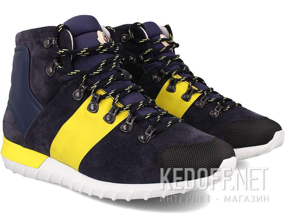 Ботинки Moncler Brice  Dark Blue - Made in Italy купить Украина