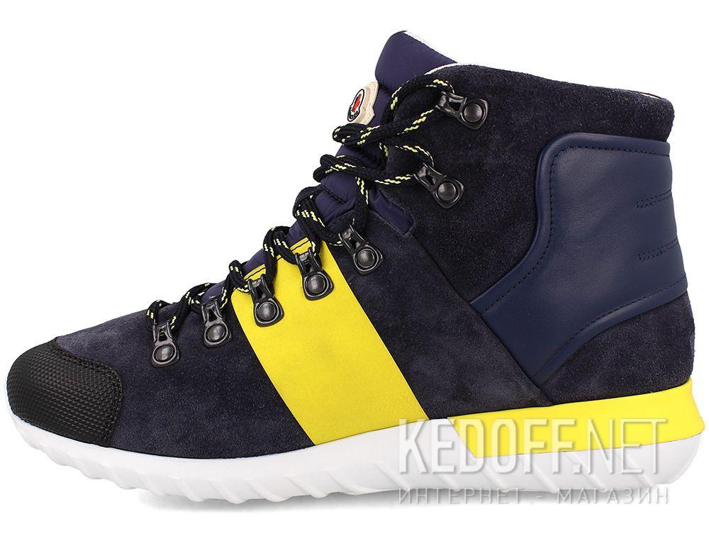 Оригинальные Ботинки Moncler Brice  Dark Blue - Made in Italy