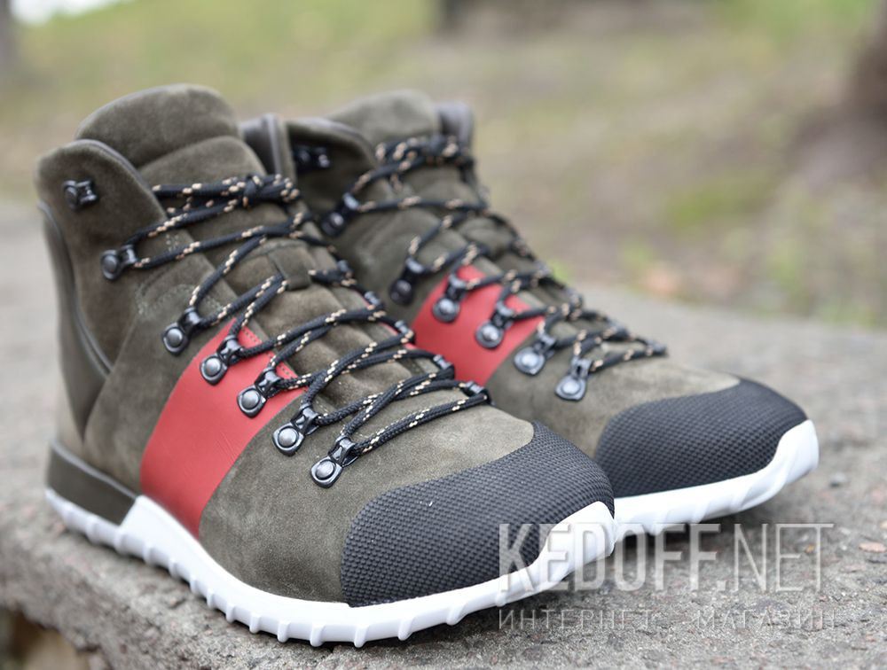 Зимние Mon Cler Brice Green Boots Made in Italy описание