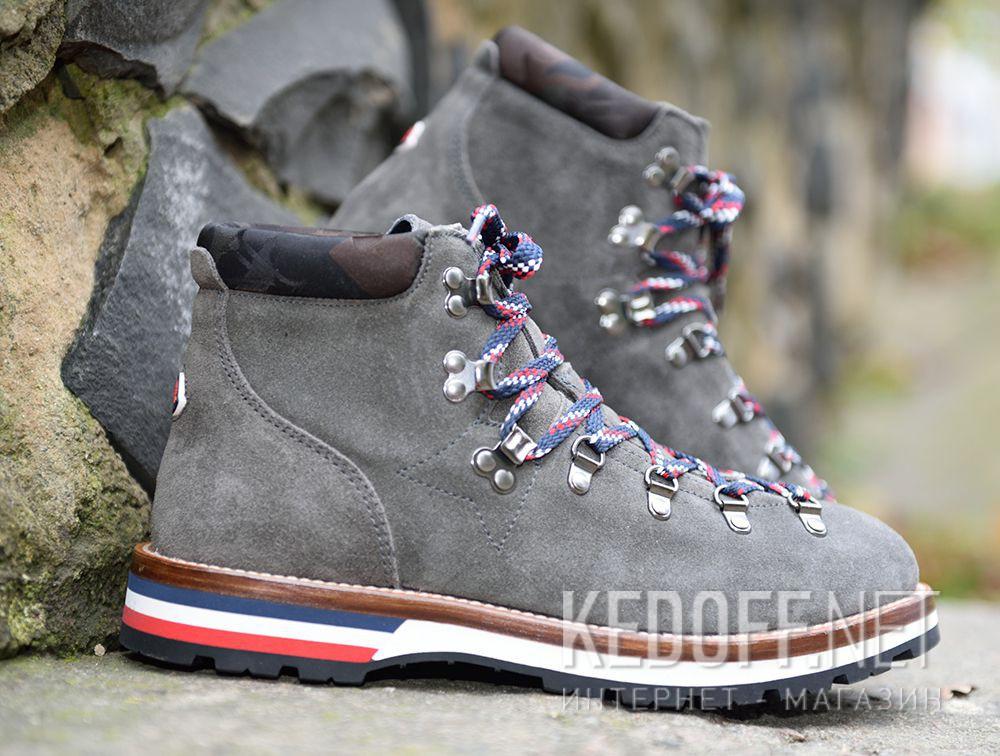 Ботинки Moncler Peak Grey Vibram Made in Italy доставка по Украине