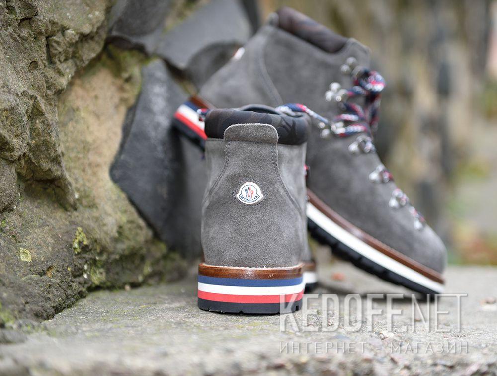 Ботинки Moncler Peak Grey Vibram Made in Italy