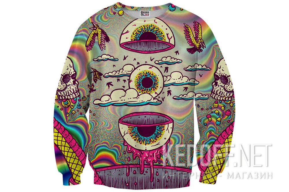Светр Mr.Gugu And Miss Go Eyeball Sweater 8161-2134